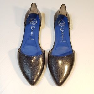 Jeffrey Campbell Jelly Love Black Glitter D' Orsay